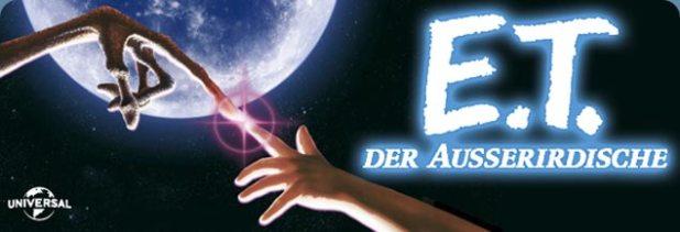 Banner des Films E.T. - Der Außerirdische