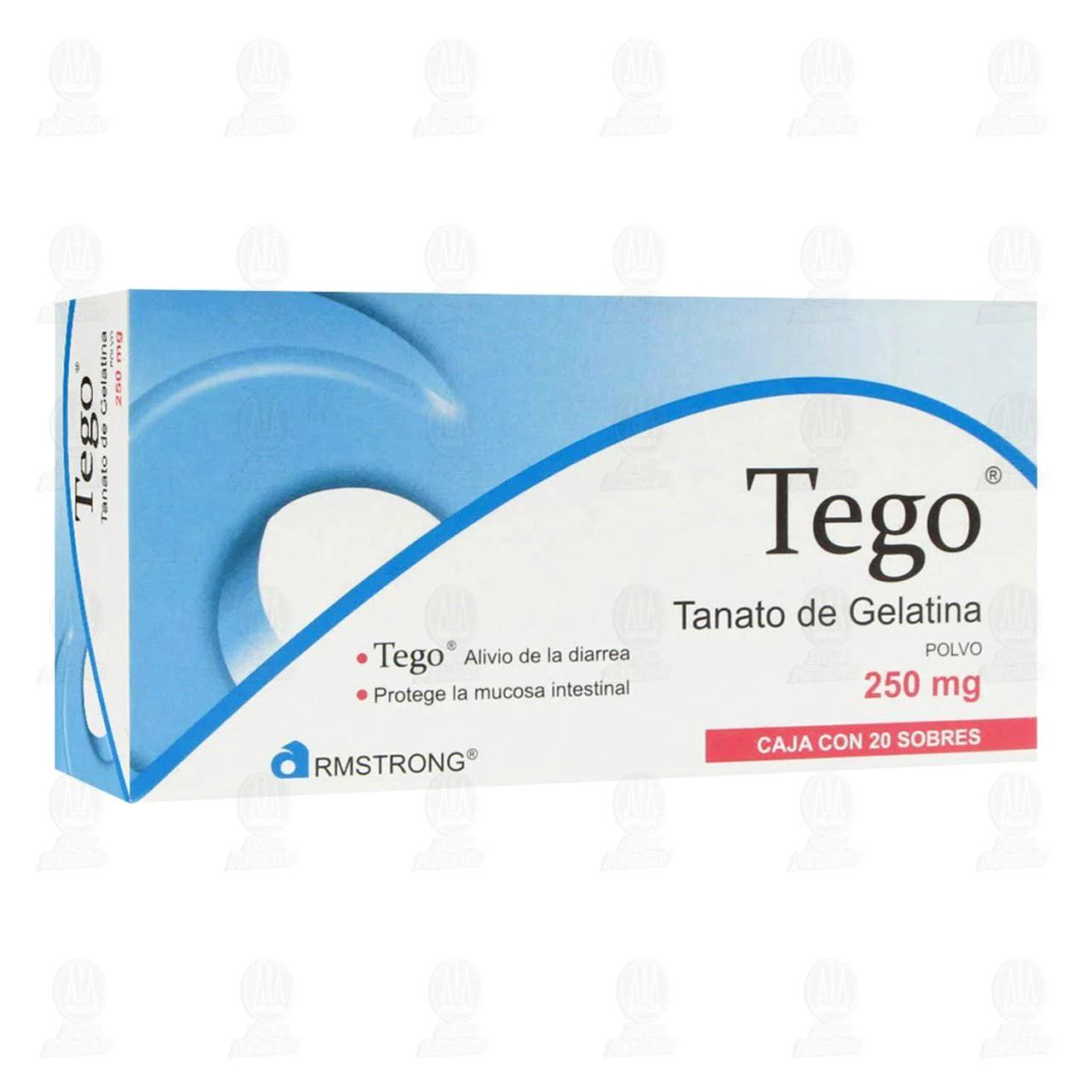 Comprar Tego 250mg 20 Sobres - Farmacia Prixz