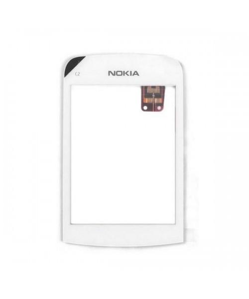 Pantalla Táctil Nokia C2 C2-02 C2-03 Blanco Repuesto de Móvil