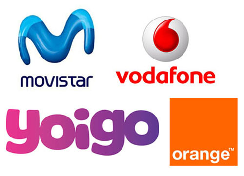 Movistar - Vodafone - Yoigo - Orange