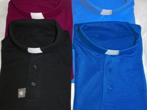 Ladies Clerical Shirt Polo style