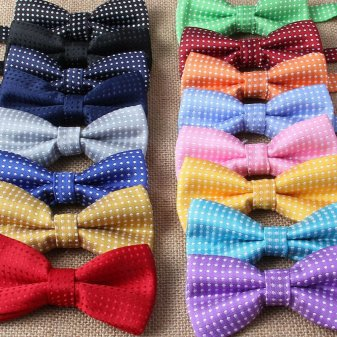 Kids dotted bowties