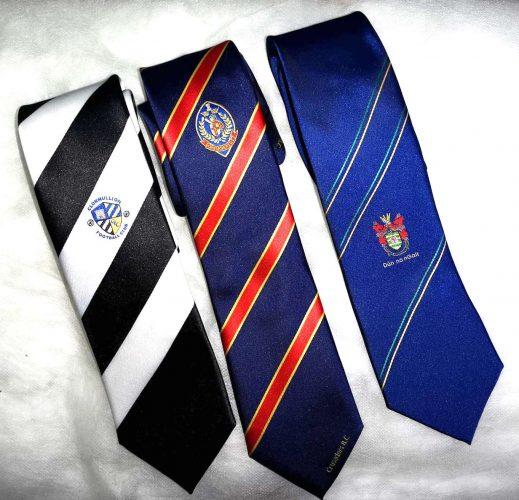 Custom Club Ties