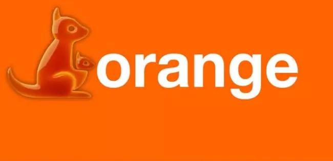 Orange con canguro