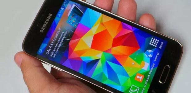 Apertura del Samsung Galaxy S5 Mini