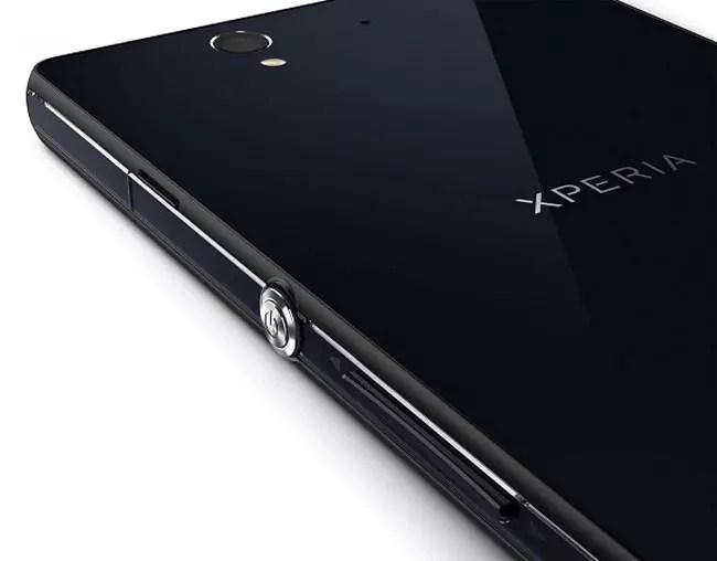 Carcasa de cristal de un Sony Xperia
