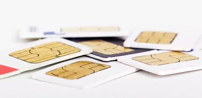 operadores SIM generica