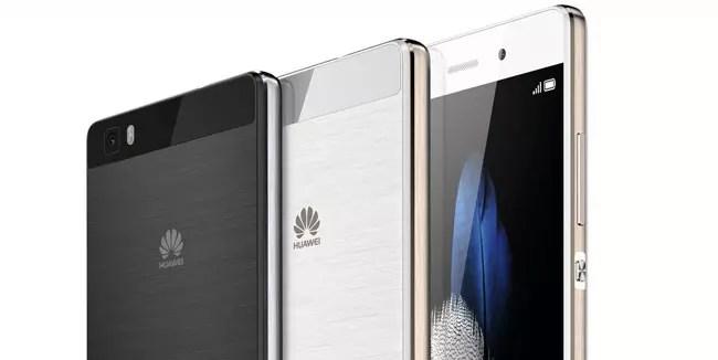 Diseño del Huawei P8