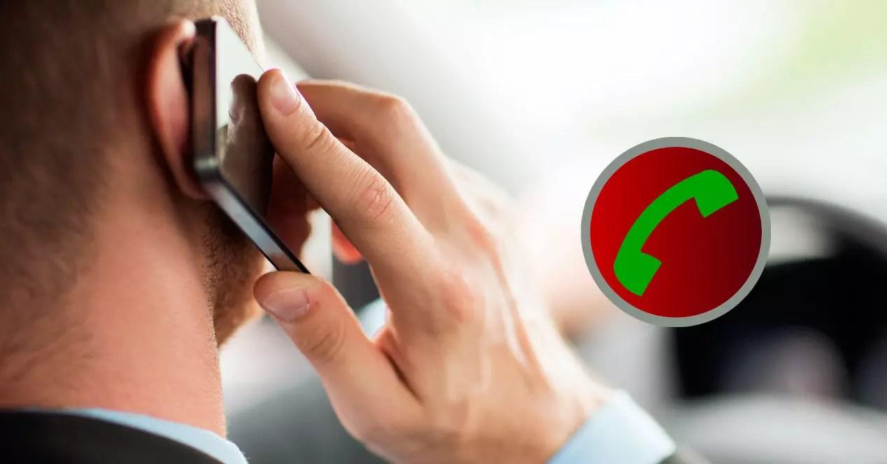 Graba las llamadas en tu móvil Android.