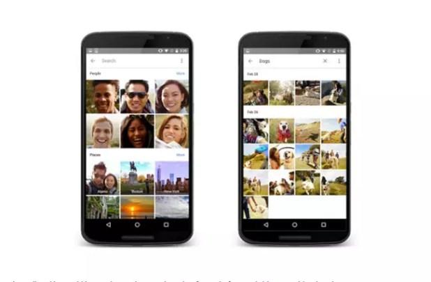 Organización de fotos en Google Photos
