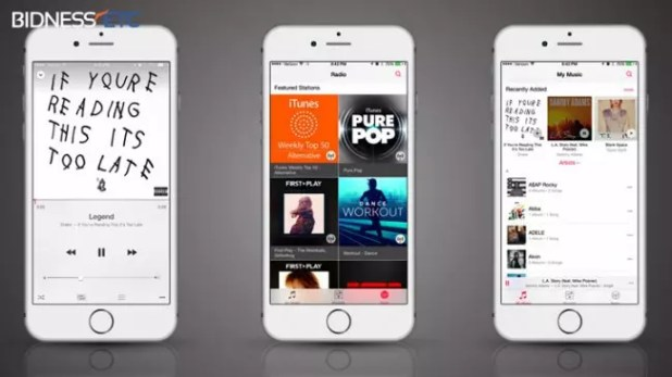 Aplicacion Musica en iOS 8.4