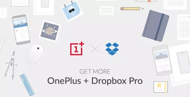OnePlus One con Dropbox Pro