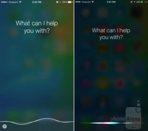 iOS 9 vs iOS 8, comparación.