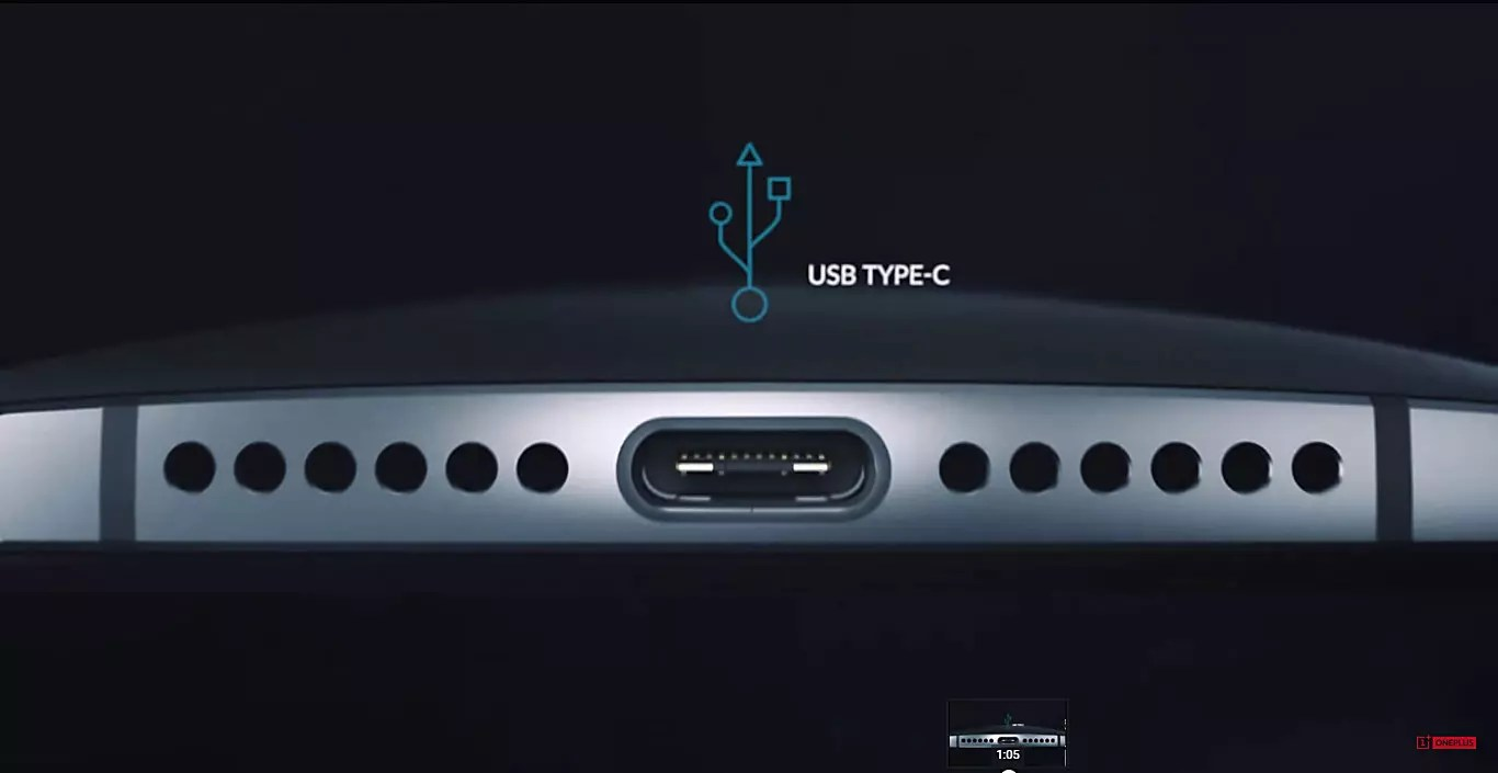 One Plus One 2 conexión USB Type C
