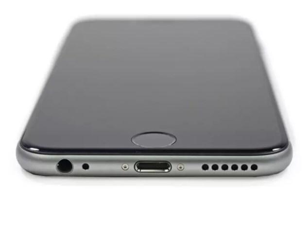 Jack de 3.5 milimetros en iPhone 6