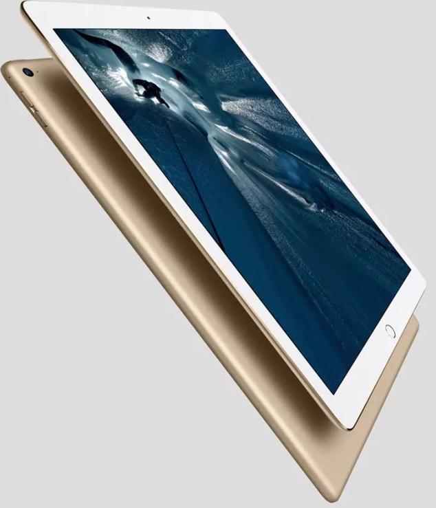 iPad Pro color dorado