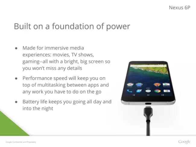 Nexus 6P de Google