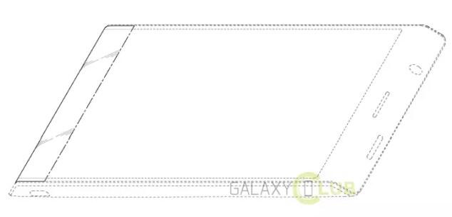 Samsung patente pantalla flexible