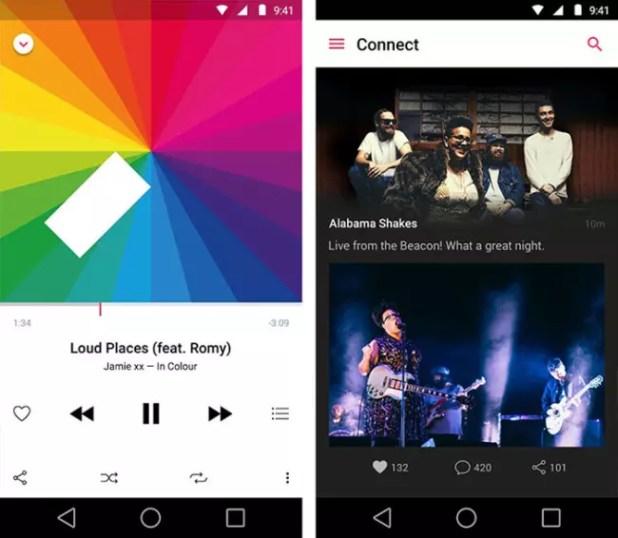 Aplicaciones Apple Music para Android
