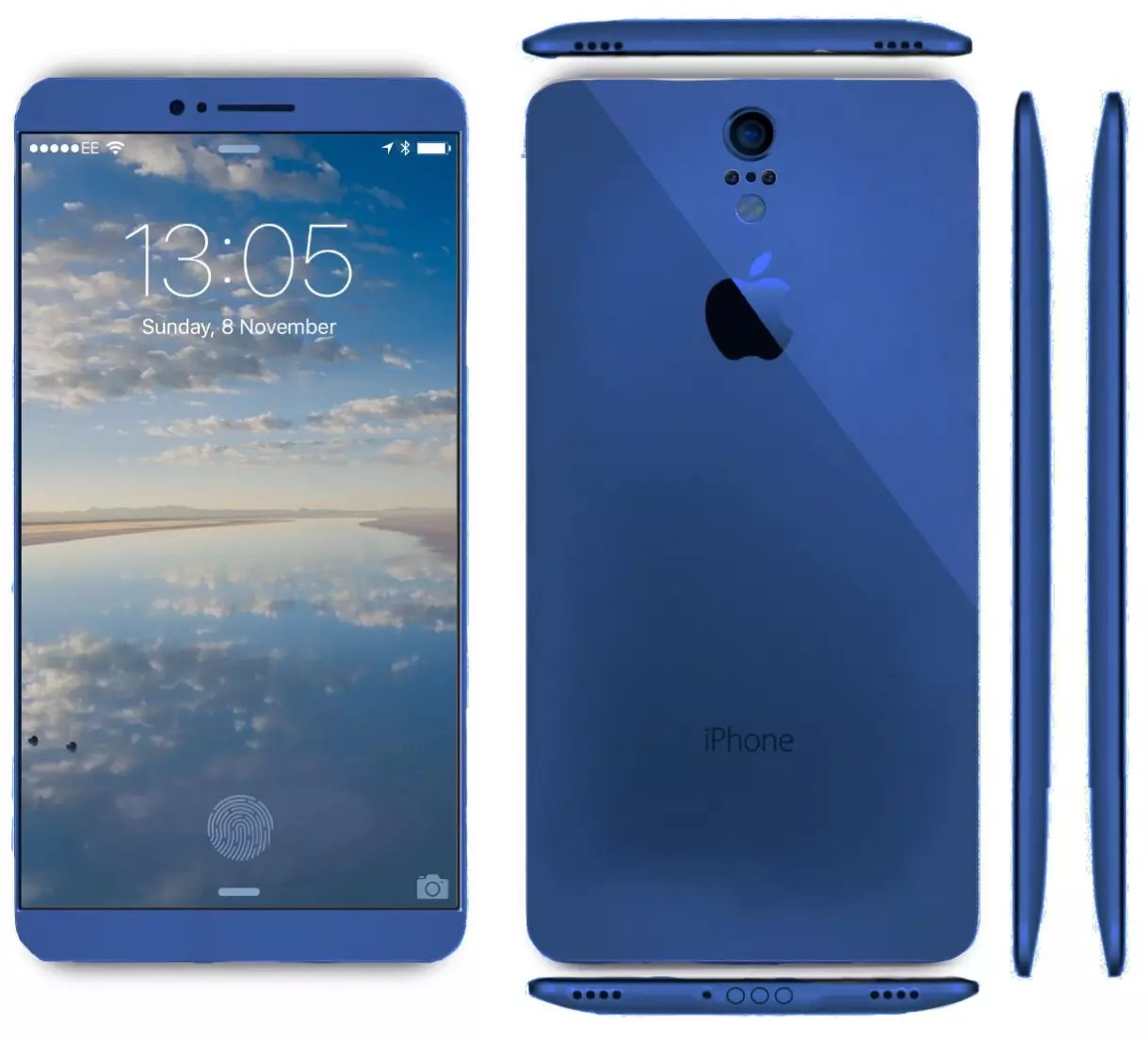 iPhone 7 blue