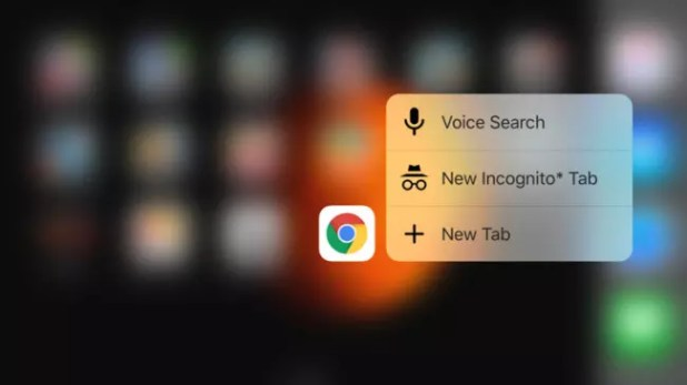 3D Touch en Google Chrome