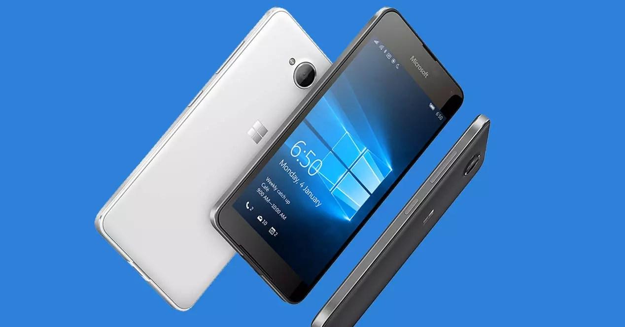 Lumia 650 portada