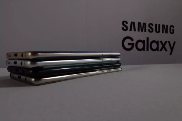Samsung Galaxy Note 7 colores lateral
