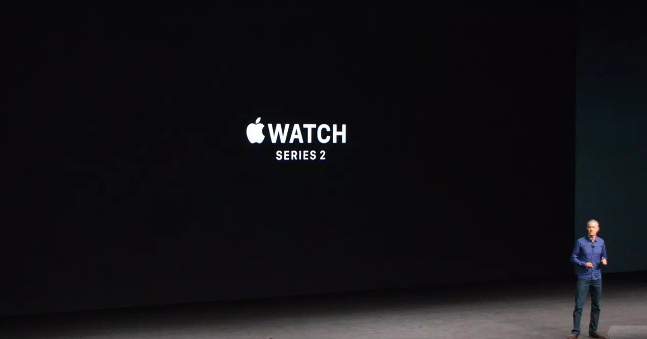 Segunda generación del Apple Watch