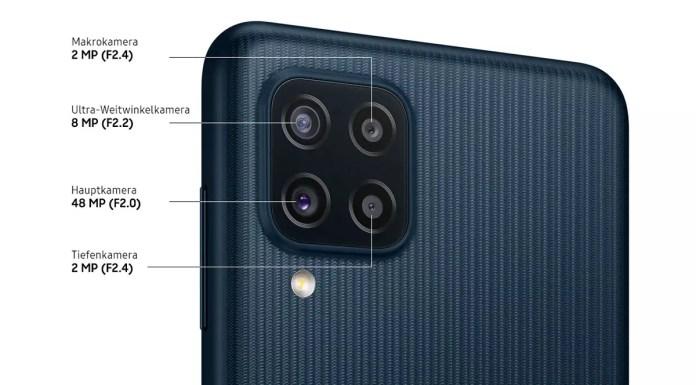 samsung galaxy m22 cameras
