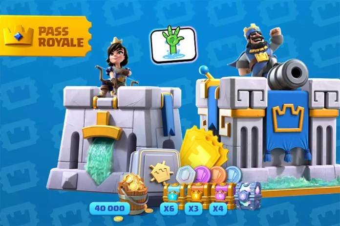 Pass Royale in Clash Royale