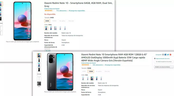 redmi note 10 out of stock amazon