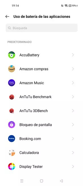 Managing apps on the realme GT Master Edition