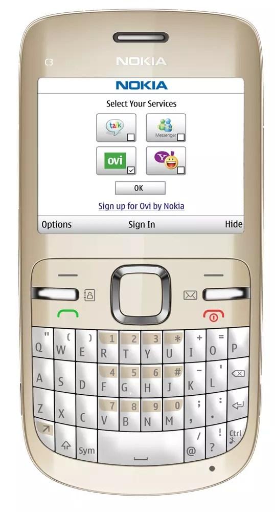 Nokia E5, Nokia C3 y Nokia C6: los nuevos móviles