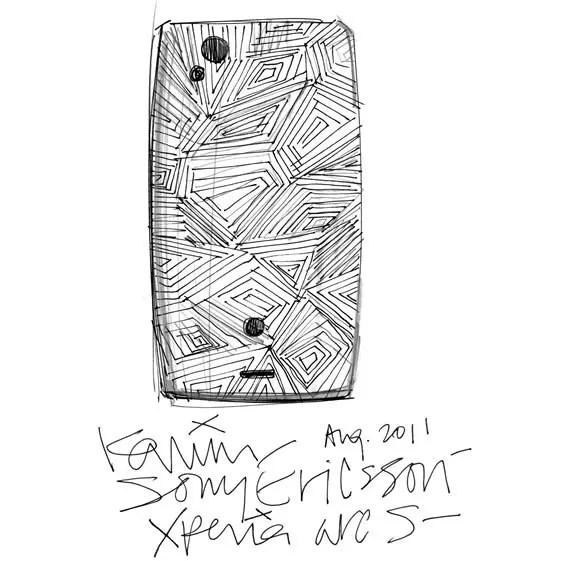 Karim Rashid diseña una edición limitada del Sony Ericsson