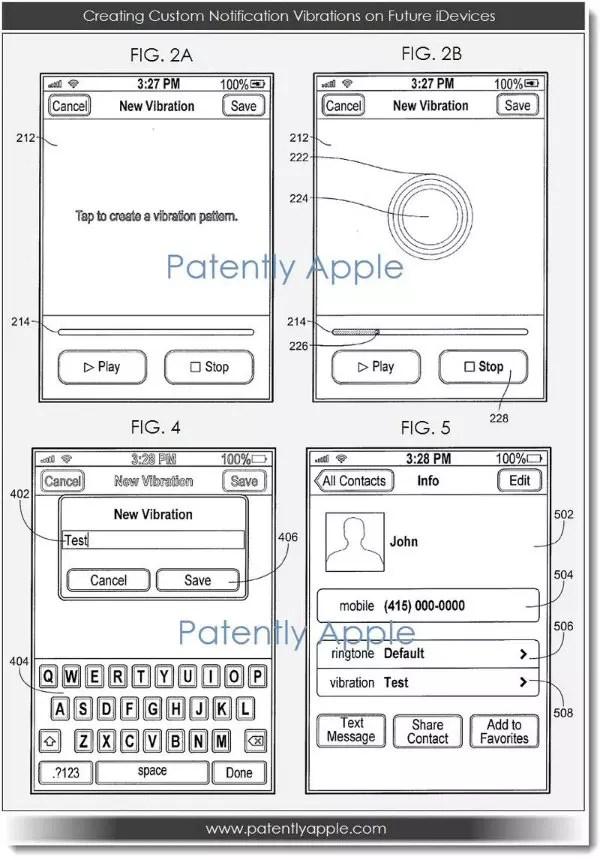 El iPhone 5S podría tener un sistema de vibración avanzado