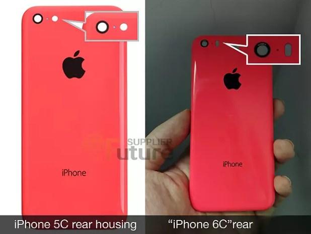 iPhone 6c de 4 pulgadas.