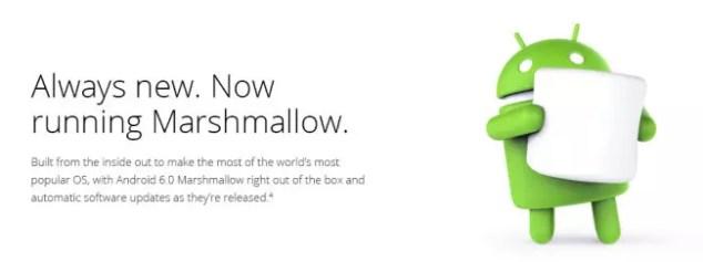 Marshmallow para el Nexus 5X