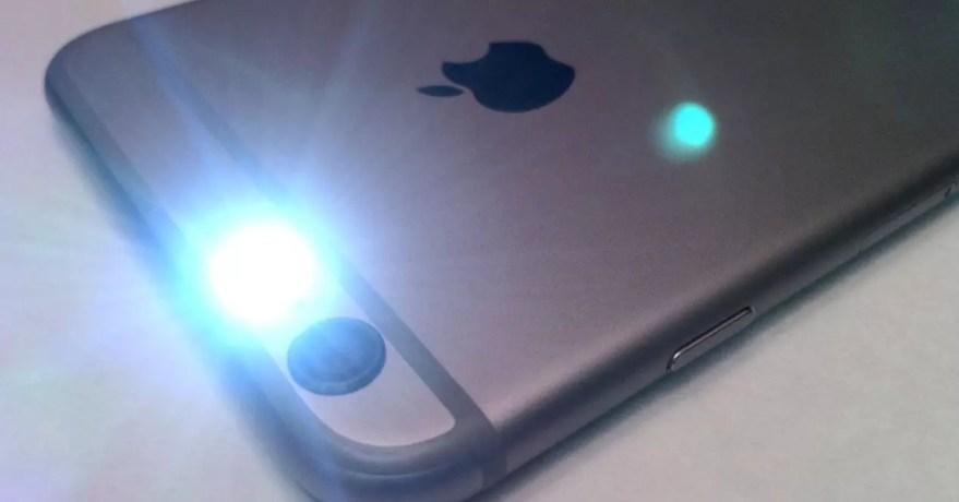 Resultado de imagen para notificaciones con flash iphone