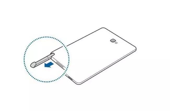 Samsung está trabajando en una tableta Galaxy Tab A con S-Pen