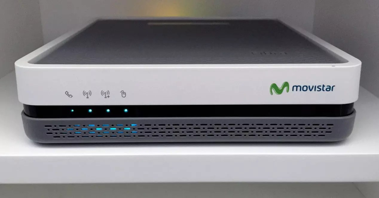 Movistar Base App olvdate de 19216801 para el WiFi del router o casi