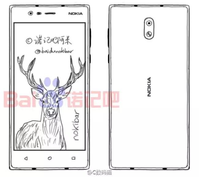 Descubre el diseño del nuevo teléfono Nokia DC1 con Android