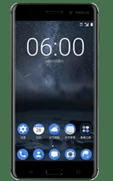 Frontal del Nokia 6