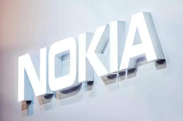 Logo de Nokia℗ en color blanco