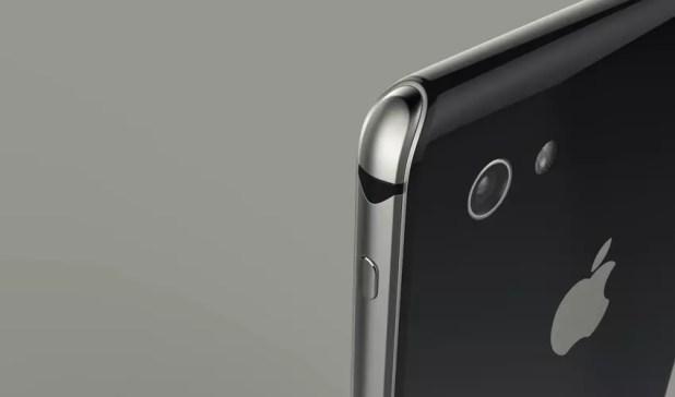 Carcasa metálica de acero del iPhone 8