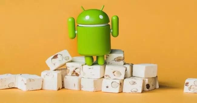 imágenes de fábrica de Android® 7.1.2