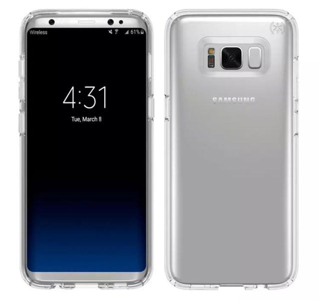 Samsung Galaxy S8 en color plata