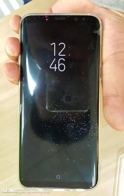 Samsung Galaxy S8 frontal