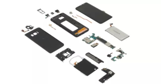 teardown samsung galaxy s8