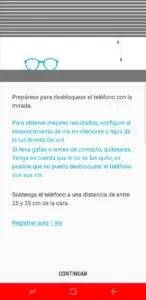 Samsung Galaxy S8+ seguridad biométrica