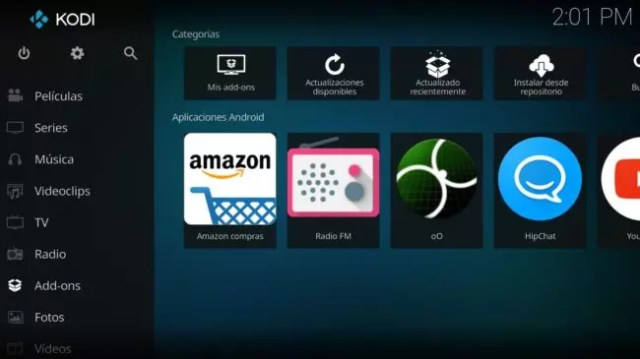 Add-Ons de Kodi para Android
